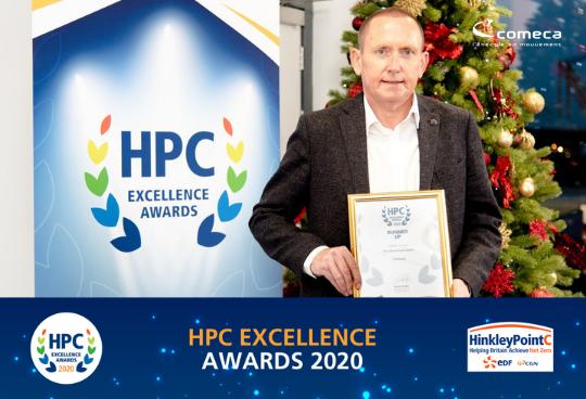 HPC Awards : Comeca reçoit un prix en tant que meilleur fournisseur international