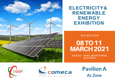 COMECA at the Electricity and Renewable Energy Exhibition (SEER)