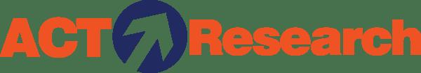 ACT Research Horizontal Logo