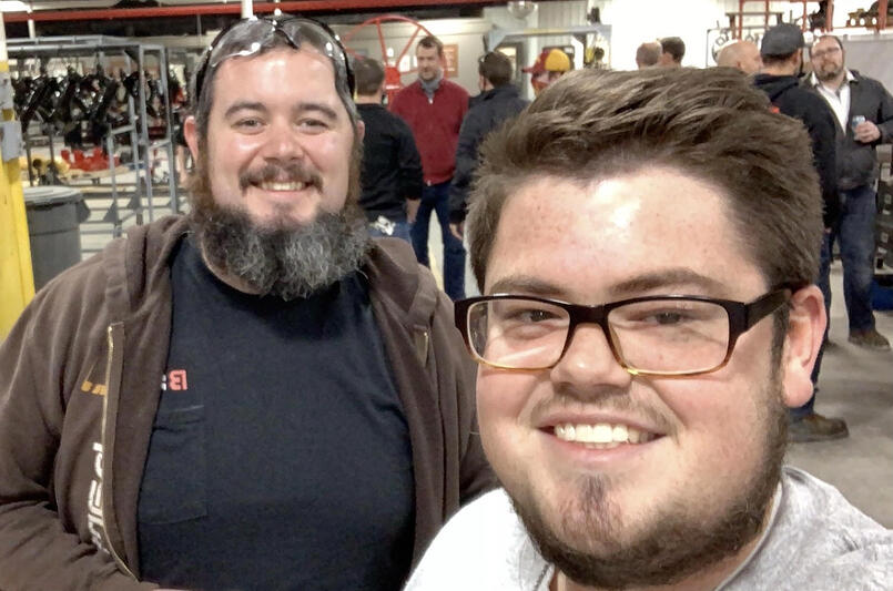 Selfie with Eric