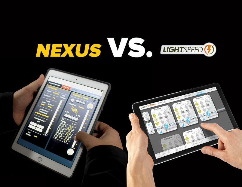 Bazooka Farmstar's NEXUS vs. Puck's LightSpeed