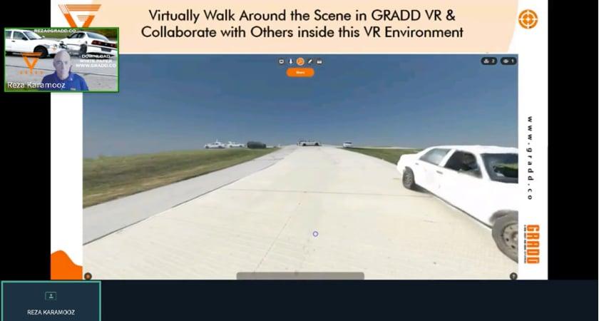 GRADD - 3D model VR walk