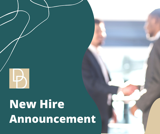 New Hire Announcement