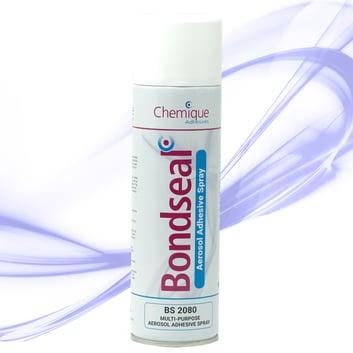 Bondseal-2080-Aerosol Adhesive Spray-Industrial Contact Adhesive