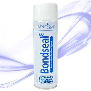 Bondseal Ultimate Aerosol Adhesive Spray - Industrial Contact Adhesive