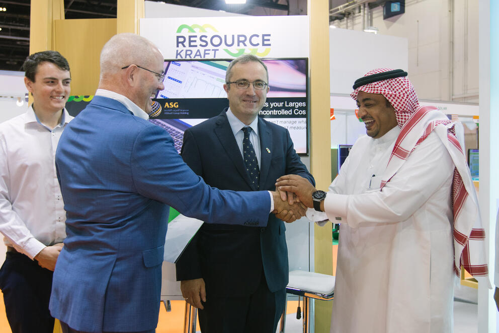 ASG & ResourceKraft Announce Strategic Partnership to Deliver Energy Management Solutions to the Middle East