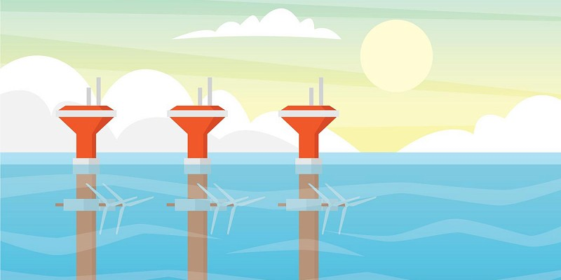 Off-Shore Tidal Energy