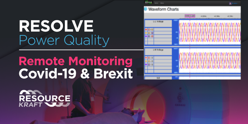 RESOLVE Power Quality: Remote Monitoring Covid-19 & Brexit
