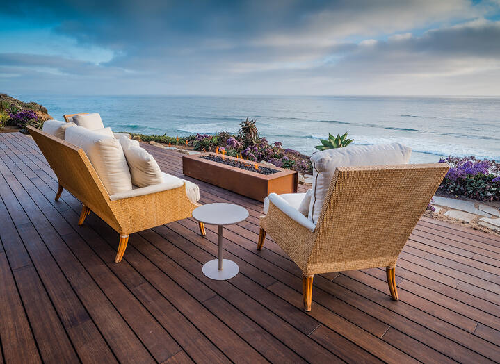 What is the price of bamboo decking?