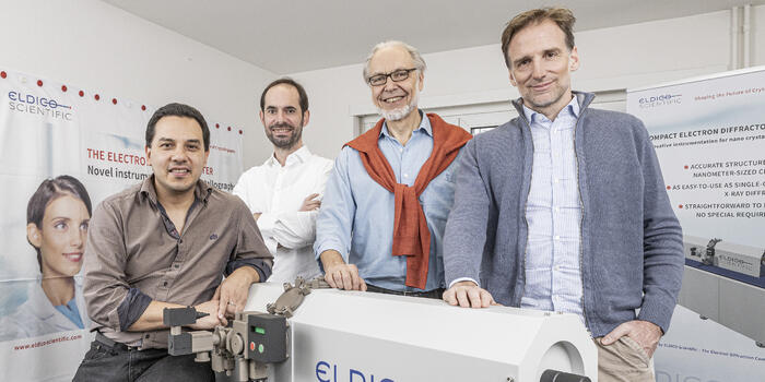 Another big win for ELDICO and its electron diffractometer