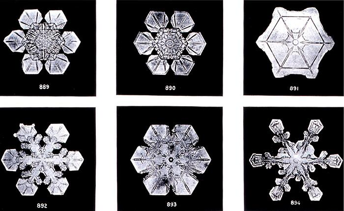 On snowflakes and crystallography