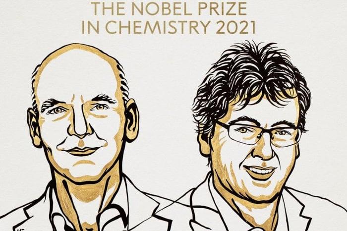Nobel prize for the development of asymmetric organocatalysis
