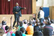 Martin Luther King school assembly