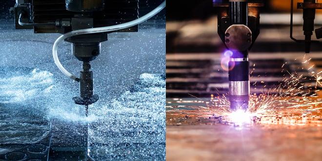 Plasma Cutting Vs. High Pressure Water Jet Cutting
