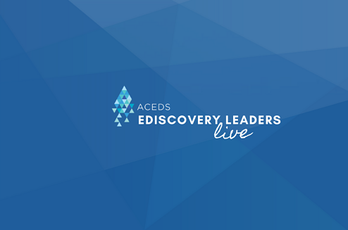 eDiscovery Leaders Live: David Cohen of Reed Smith