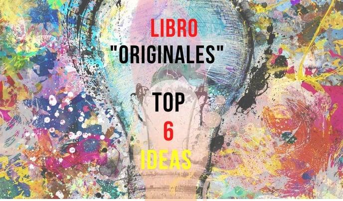 """Top 6 Ideas del Libro """"Originales"""""""