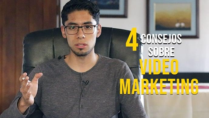 4 Consejos Para Tus Videos De Marketing