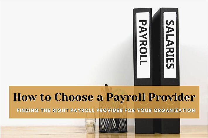 How to Choose a Payroll Provider