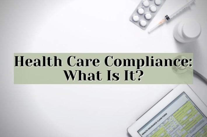 health care compliance