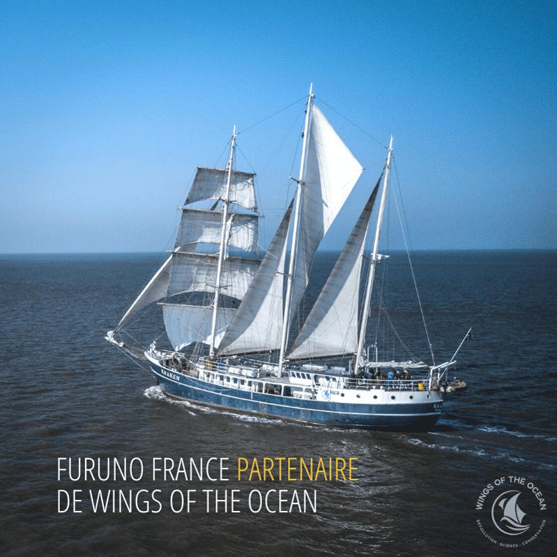 Furuno France partenaire de Wings of the Ocean