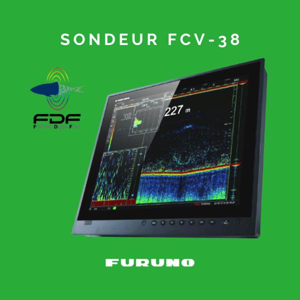 FCV-38, nouveau sondeur avec indicateur de taille de poisson