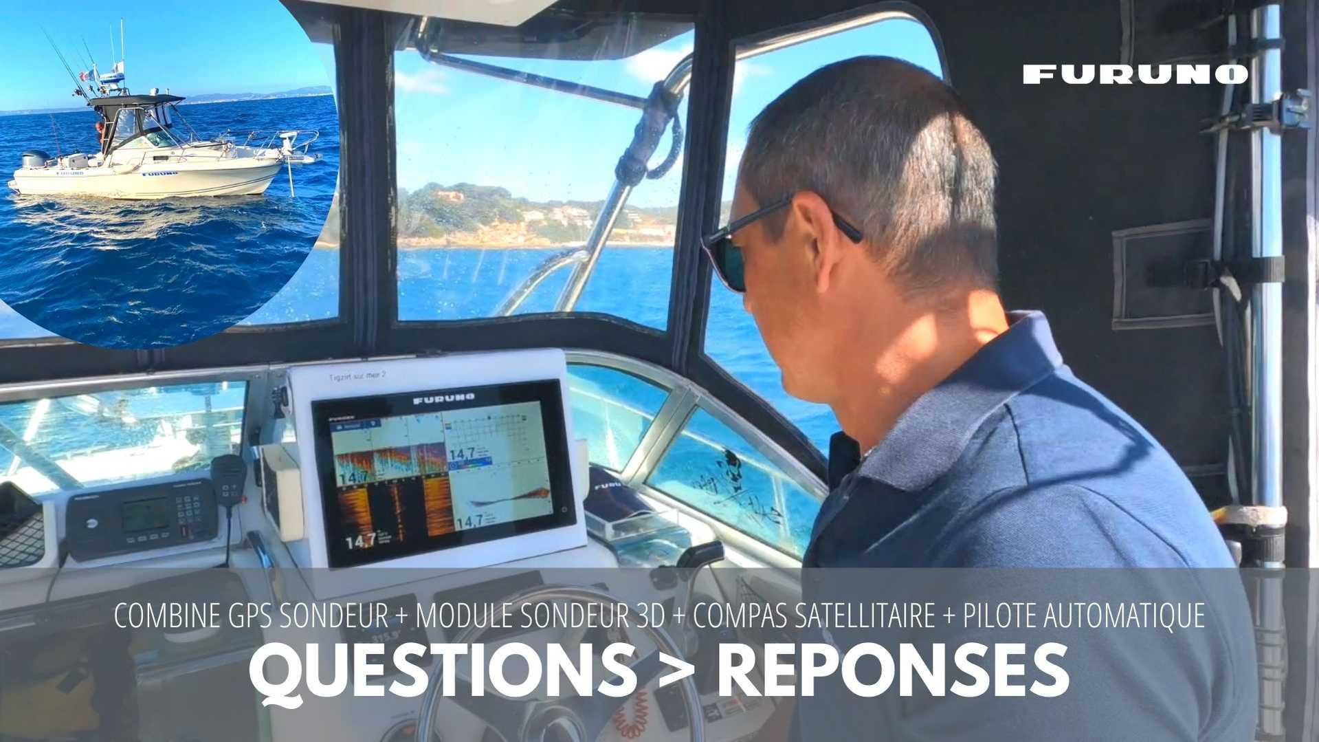 Sortie en mer pour cartographier et prospecter des zones de pêche