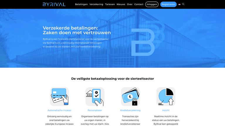 Nieuw: ByRival, dé internationale betaaloplossing voor de sierteeltsector