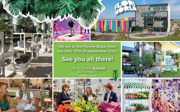 FreshPortal aanwezig op The Flower Bazar in FloriWorld Aalsmeer