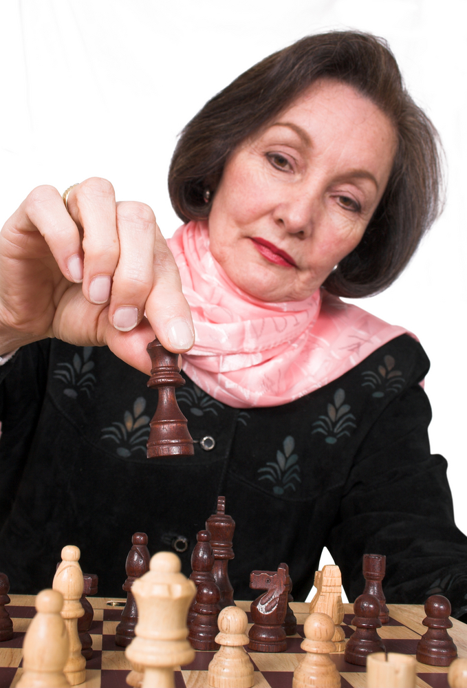 Games like chess are excellent for improving brain function and memory