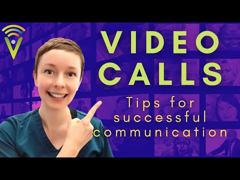 Audiologist Emma Russell gives tips for successfully communicating on video calls