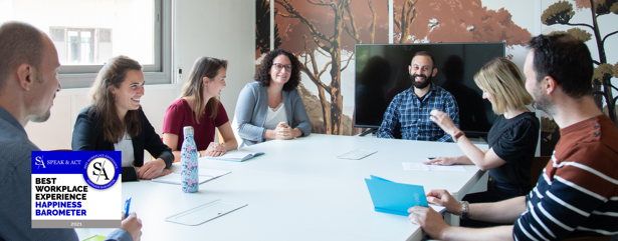 FORTIFY, labellisée Best Workplace Experience 2021 par Speak & Act