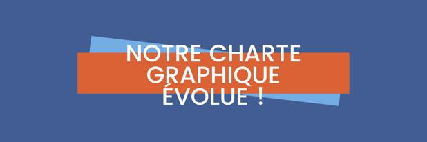 Notre charte graphique évolue
