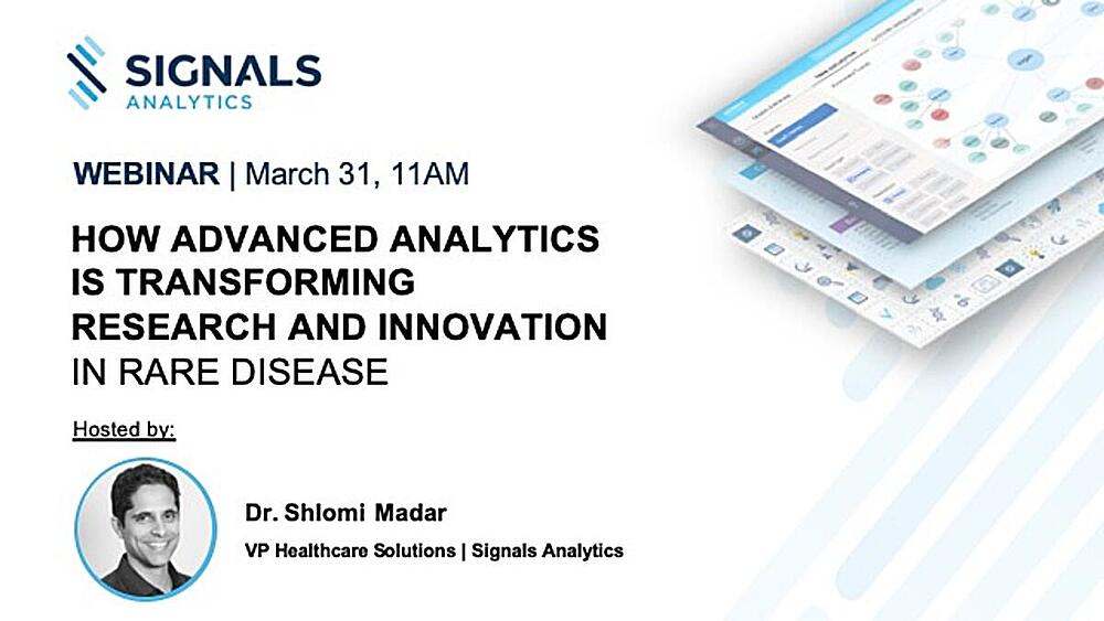 How Advanced Analytics is Transforming Research and Innovation in Rare Disease