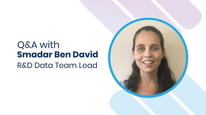 Behind the Scenes of Advanced Analytics & AI : Q&A with R&D Data Team Lead Smadar Ben David