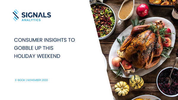 Food For Thought: Thanksgiving 2020 Consumer Trends
