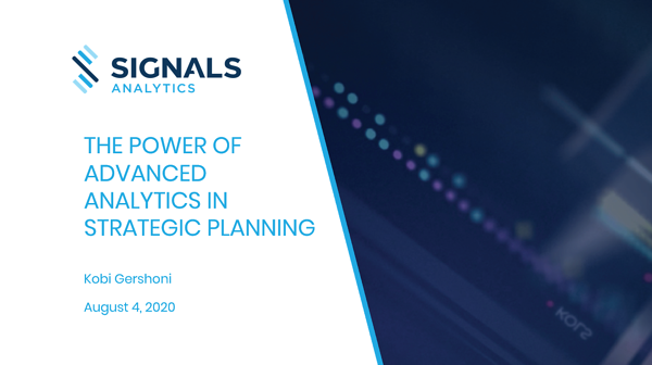 The Power of Advanced Analytics in Strategic Planning