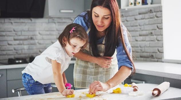 ¡En casa, planea las actividades de los más pequeños!