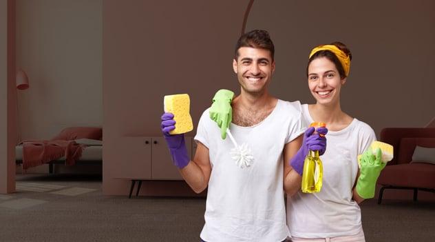 ¡Tu hogar libre de virus y bacterias!