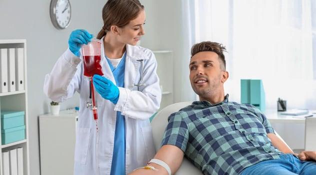 ¡La donación de sangre beneficia tu salud!
