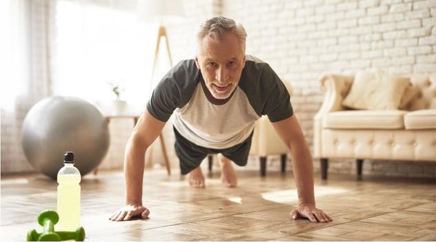 ¡Prueba esta rutina de Pilates mientras estás en casa!