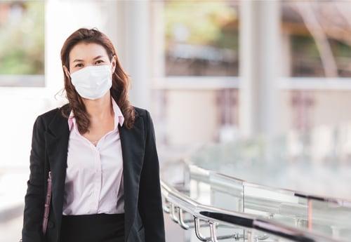 ¡Oficina sin infecciones virales!