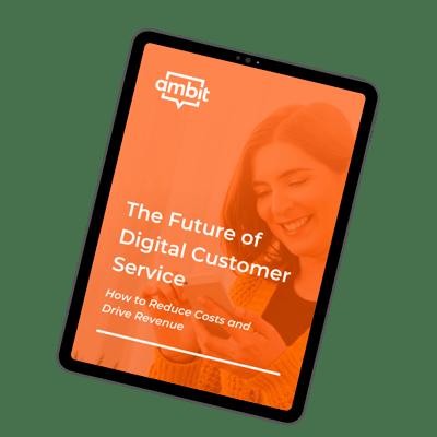 Digital customer service ebook thumbnail