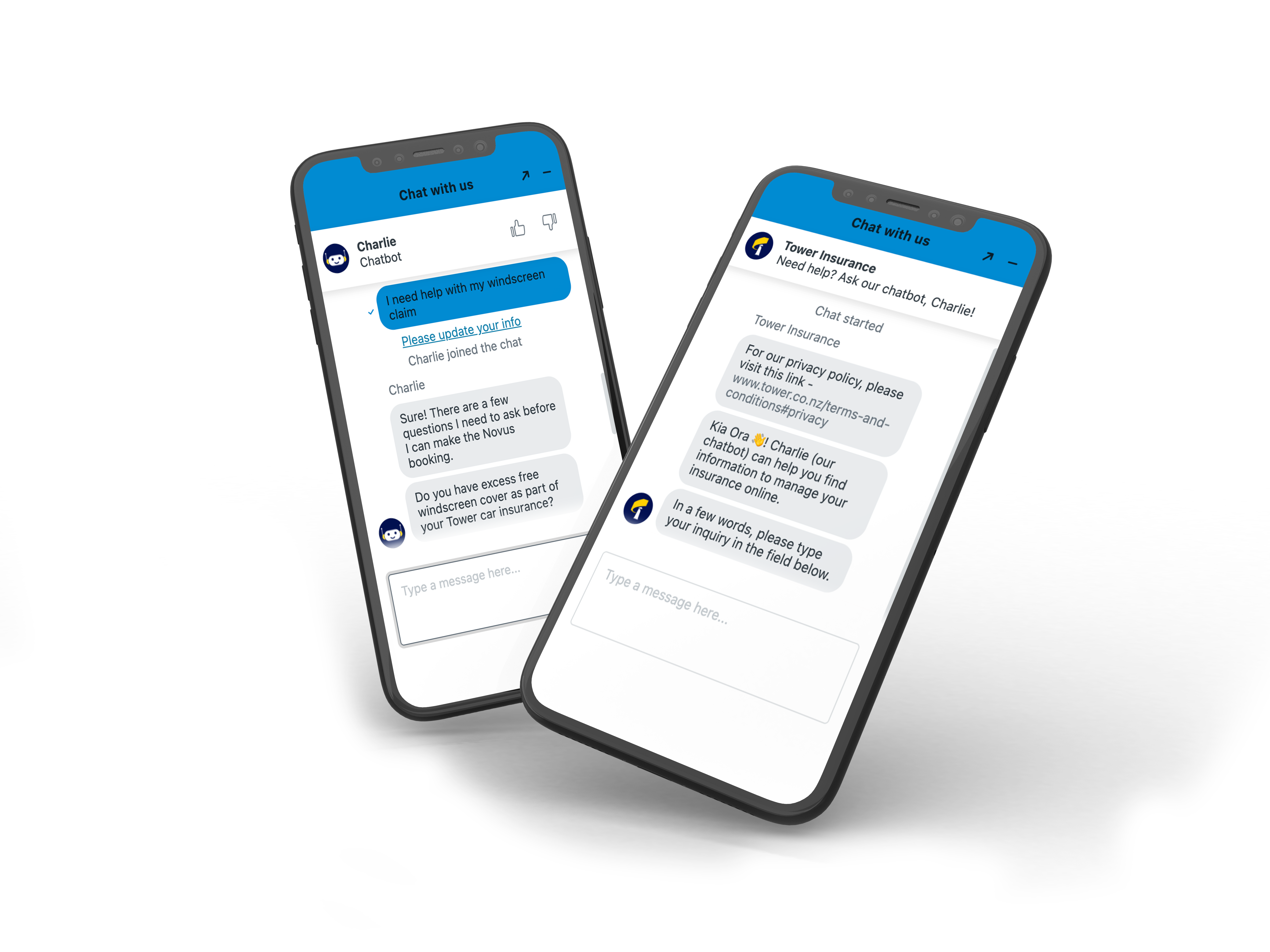 Tower Insurance Chatbot powered by Ambit
