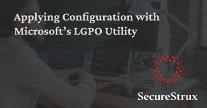 How to Automate the Management of a Computer's Local Security Policy Using Microsoft's Local Group Policy Object (LGPO) Utility & Configure Microsoft's Security Compliance Toolkit 1.0