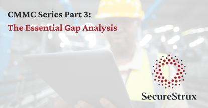 CMMC Series Part 3: The Essential Gap Analysis Header