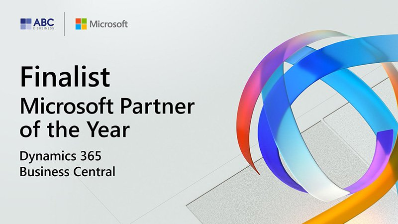 ABC E BUSINESS partner of the year finalist dynamics 365 business central