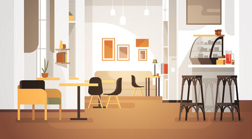 A Guide on Different Types of Furniture Used in Restaurants and Cafes