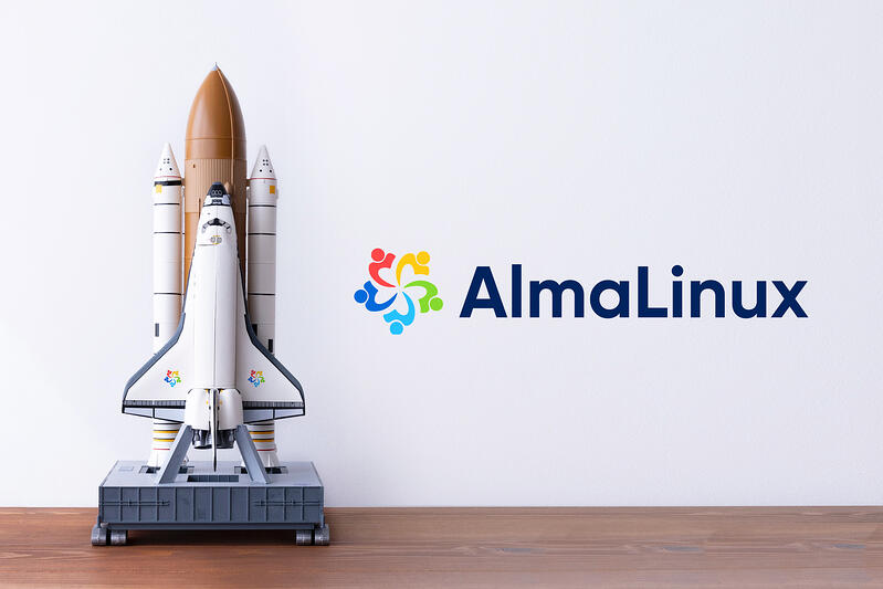 Join the live launch of AlmaLinux OS