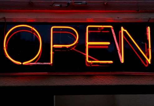 Modified opening hours
