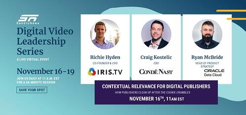 Live Event: Contextual Relevance for Digital Publishers